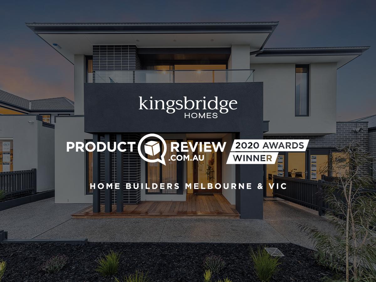Kingsbridge Homes win ProductReview.com.au award